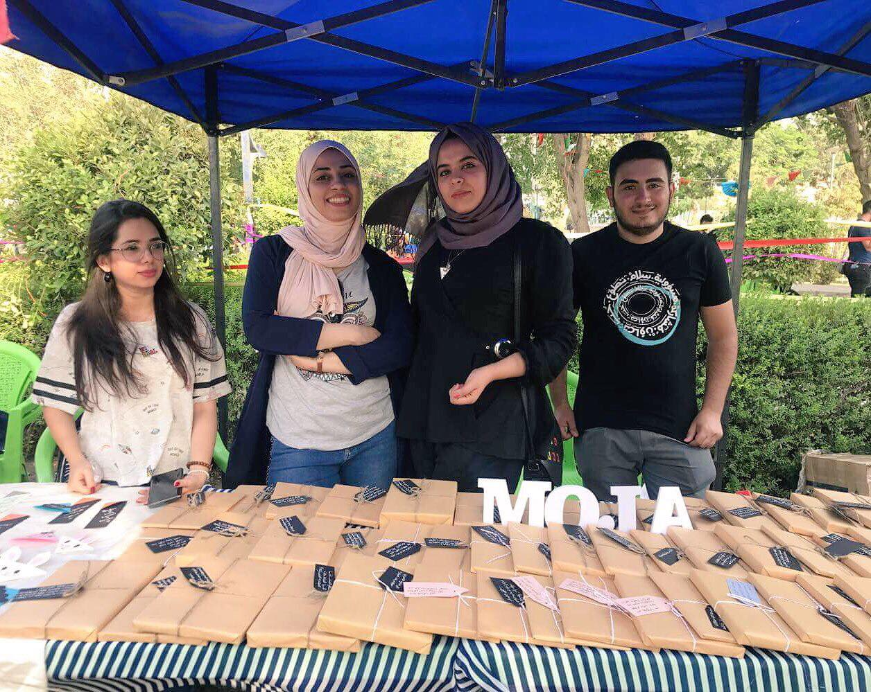 Moja Participated in the Peace Festival in Baghdad.