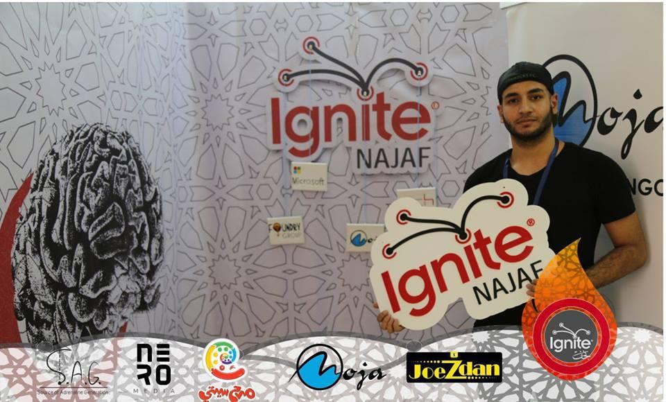 Ignite Najaf event Sponsored by Moja