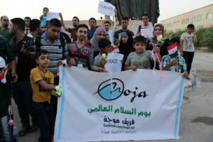 The initiative of the Wave team to legislate laws preventing the entry of violent children's toys into Iraqi markets