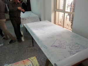The longest message of peace in the world prepared by a Moja team from the University of Kufa to the University of Anbar