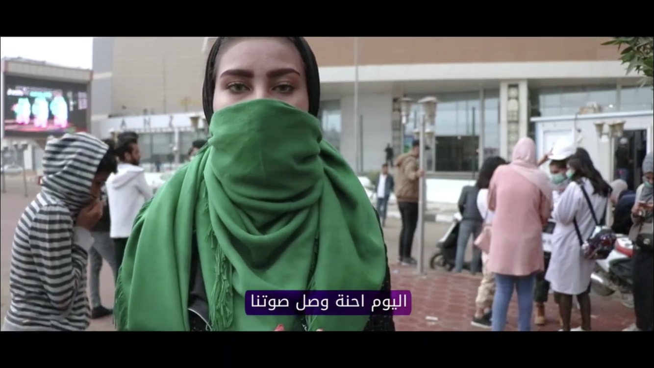 Women at the front line of social and political change in Iraq