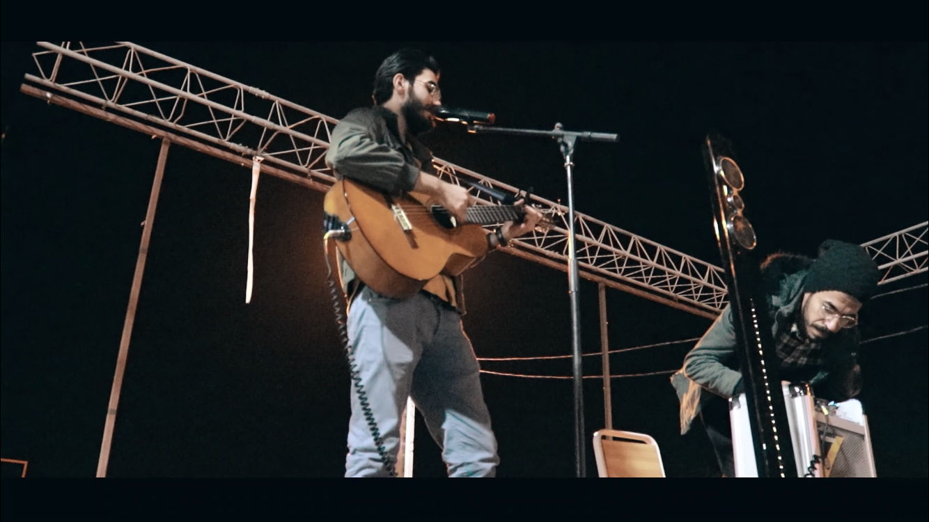 We sing and play music for freedom in Samawah and Dewaniya